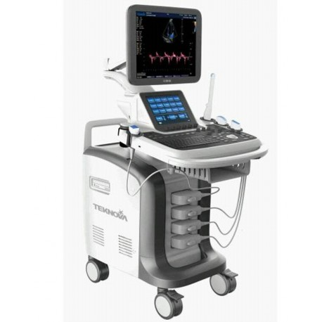 KCD-5500 (3D/4D/CW color Doppler  Standard Configuration--with 1 Convex array probe