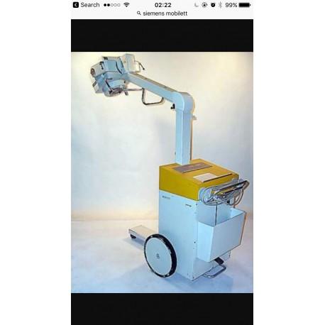 Siemens Mobilett Mobike x ray