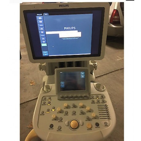 4D Philips IU22 ULTRASOUND MODEL WITH 2X PROBES